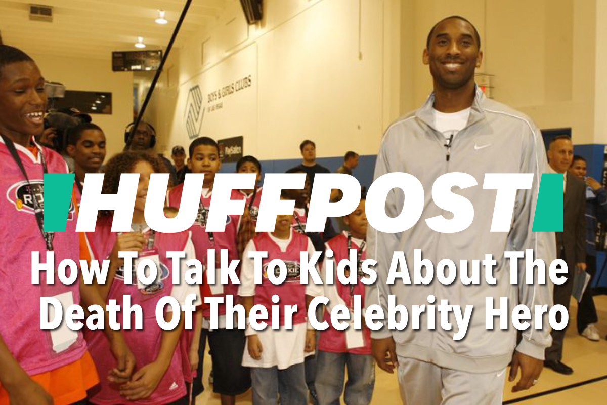 Huffpost | How To Talk To Kids About The Death Of Their Celebrity Hero